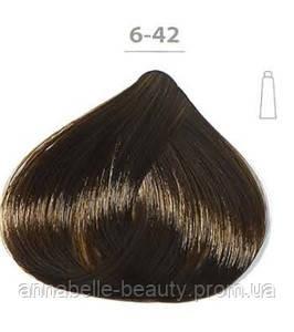 Стойкая крем-краска DUCASTEL Subtil Creme 6-42 тёмный блондин медный перламутровый, 60 мл