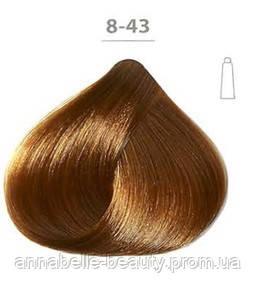 Стойкая крем-краска DUCASTEL Subtil Creme 8-43 светлый блондин медный золотистый, 60 мл