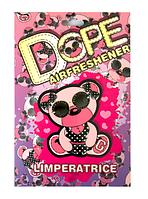 Стильный ароматизатор Bear Dope для авто с запахом духов DG L'imperatrice