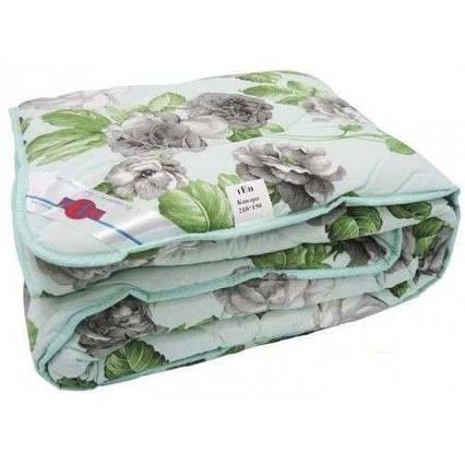 Одеяло закрытое овечья шерсть (Бязь) Двуспальное Евро T-51283, фото 2