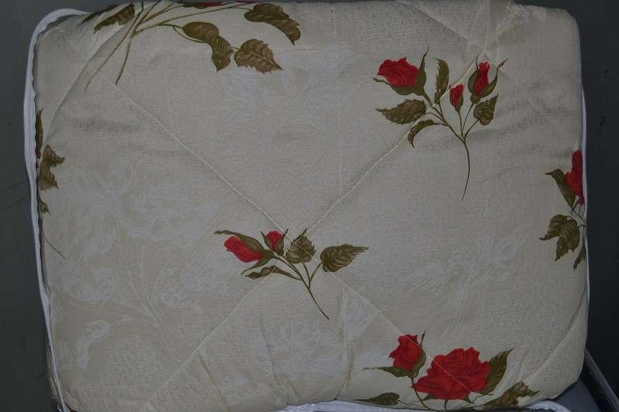 Одеяло закрытое овечья шерсть (Бязь) Двуспальное Евро T-51285