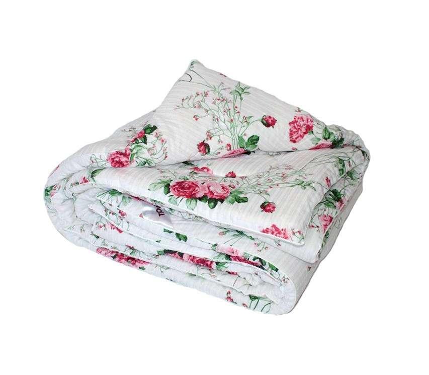 Одеяло закрытое овечья шерсть (Бязь) Двуспальное Евро T-51306