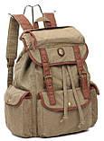 Чоловічий тканинної рюкзак ID005-GN, фото 4