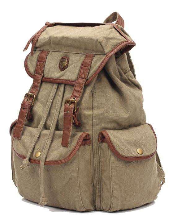 Чоловічий тканинної рюкзак ID005-GN
