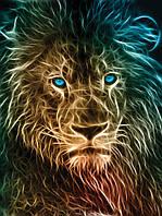 Фотообои 3D Животные 206x275 см Лев (3631.21404VEA)