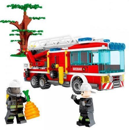 Конструктор Fire Пожежна машина, 330 деталей, арт. 603040