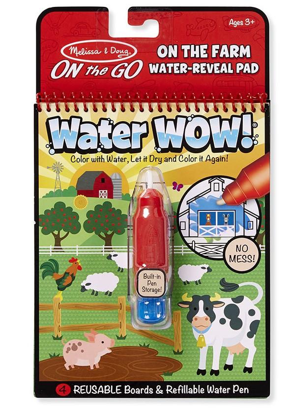 Волшебная водная раскраска Домашняя ферма Melissa & Doug ...