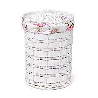 Корзина для белья с тканевым мешком, 40*30 см