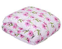 Одеяло закрытое овечья шерсть (Бязь) Двуспальное Евро T-51307, фото 3