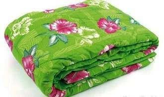 Одеяло закрытое овечья шерсть (Бязь) Двуспальное Евро T-51308, фото 2
