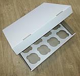 Коробка для транспортування кондитерських виробів (на 12 шт) 330х255х80, фото 2