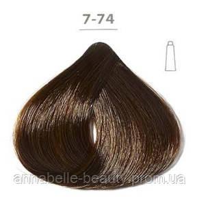 Стойкая крем-краска DUCASTEL Subtil Creme 7-74 блондин каштановый медный, 60 мл