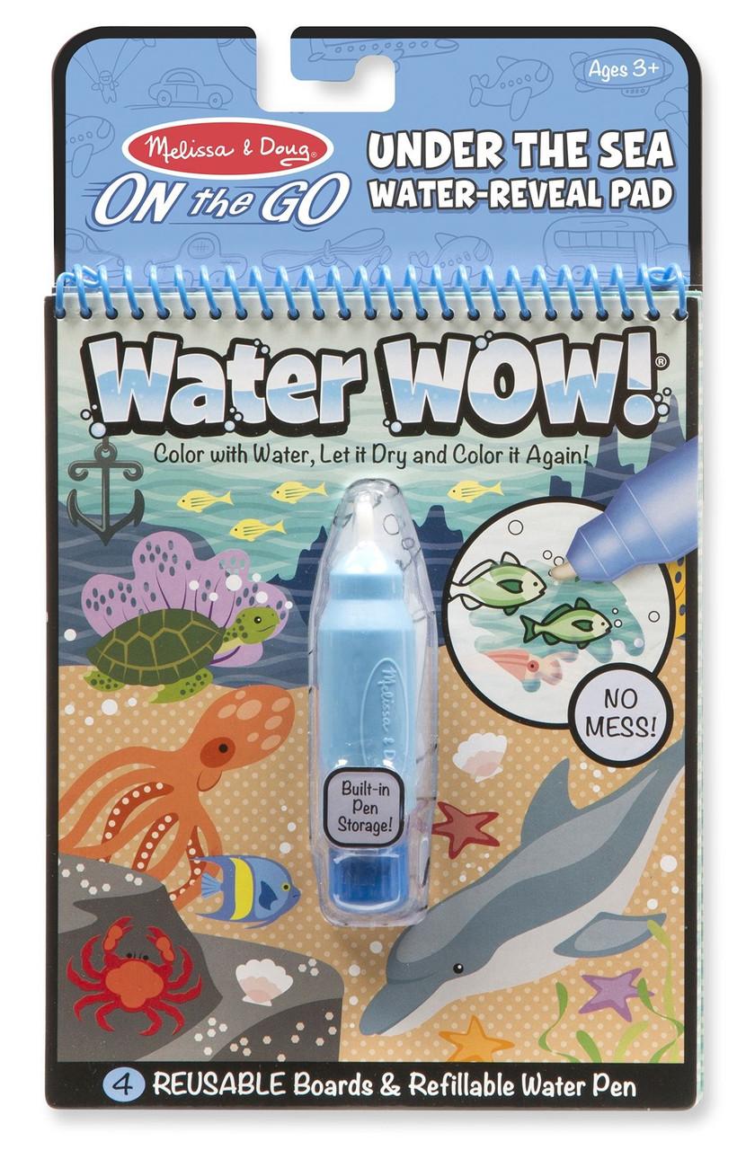 Волшебная водная раскраска Подводный мир Melissa & Doug ...