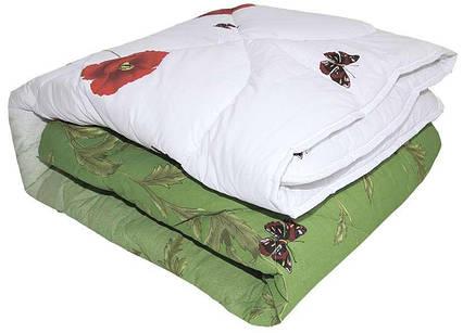 Одеяло закрытое овечья шерсть (Бязь) Полуторное T-51322, фото 2