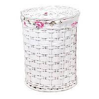 Корзина для белья с тканевым мешком, 48*37 см