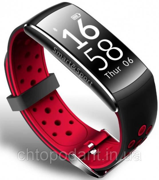 Фитнес браслет Фитнес-браслет Q8 - красный Код 10-7854