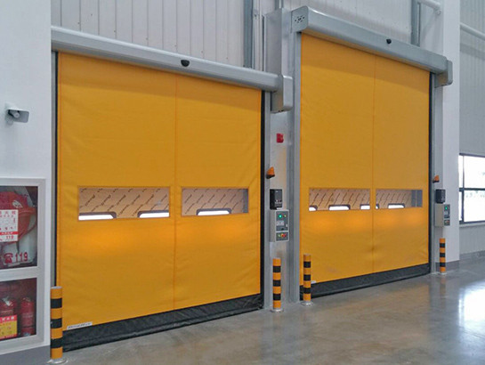 ПВХ ворота DoorHan SpeedRoll SDI скоростного типа