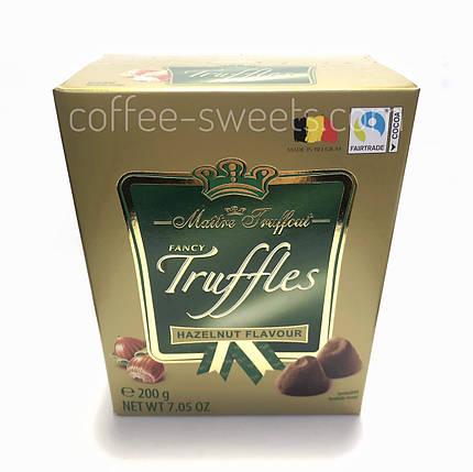 Конфеты трюфели Maitre Truffout Truffles с фундуком 200g, фото 2