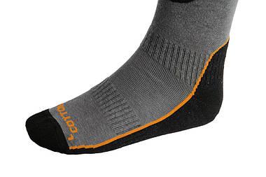 Шкарпетки лижні Emmitou 44-46 Black-Orange, фото 2