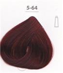 Стойкая крем-краска DUCASTEL Subtil Creme 5-64 светлый шатен красный медный, 60 мл