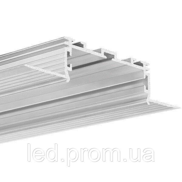 LED-профиль KLUS KOZUS-50 под шпаклевку (C0958)