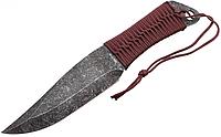 Нож для метания лезвие покрыто методом стоунвош (устойчивое подходит для метания по любым материалам) + чехол, фото 1