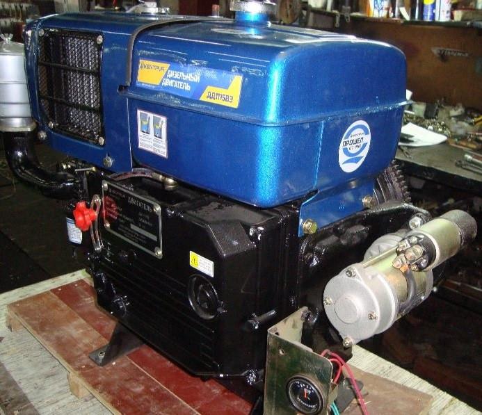 Дизельный двигатель ДД1115ВЭ (24 л.с.)