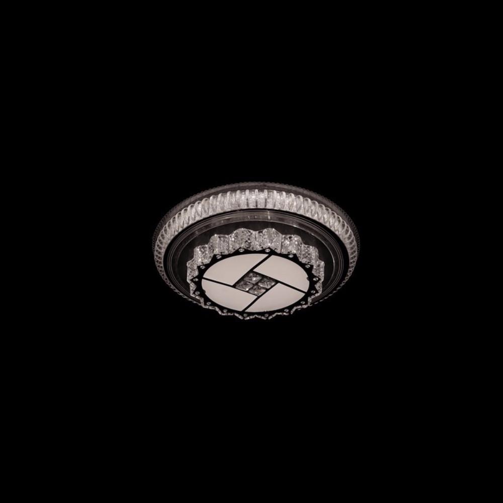 Круглая светодиодная люстра СветМира хром 120 Вт 500 мм. LS-2197-5/500