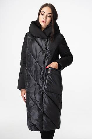 Куртка женская BATTERFLEI 1979 черная, фото 2