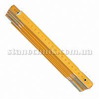 Метр складной деревянный 2000 мм VOREL (15020)