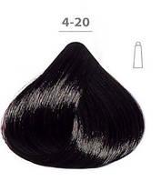 Стойкая крем-краска DUCASTEL Subtil Creme 4-20 Шатен ярко-фиолетовый, 60 мл