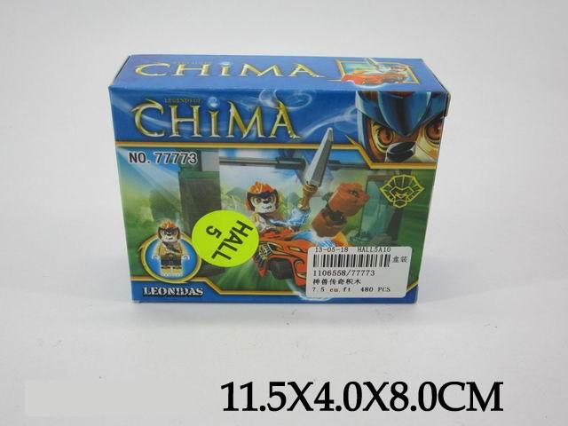 """Детский Конструктор """"Chima"""", в коробке, 77773"""