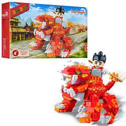 Конструктор BANBAO Китайский дракон, фигурка воина, 158 дет. 6610