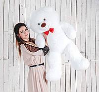 Плюшевый мишка Yarokuz Бенжамин 135 см Белый