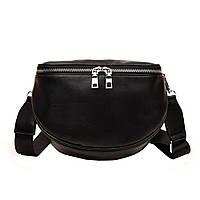 Женская сумка через плечо, поясная сумка: Черный цвет