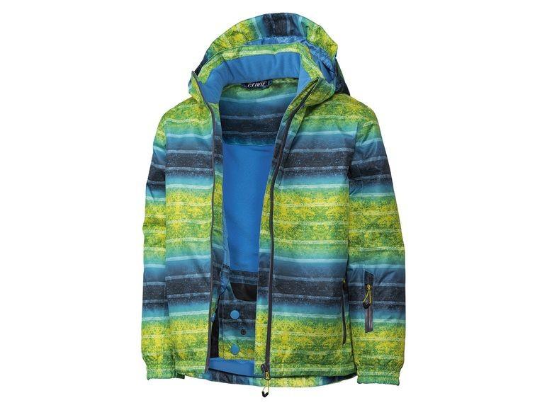 Термокуртка зимняя лыжная для мальчика разноцветная Crivit р.134/140