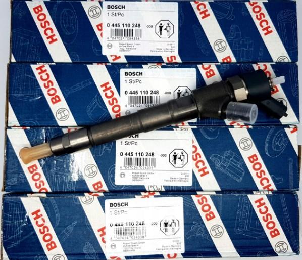 Комплект форсунок Jumper Ducato Daily 0445110248