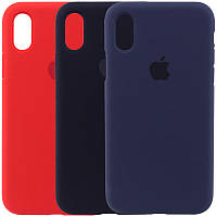 Чехол Silicone Case на  iPhone X, XS
