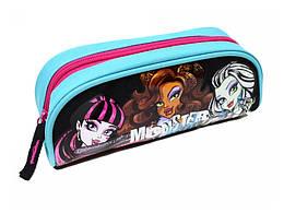 """Пенал на молнии """"Monster High"""" 7 х 21 х 7 см, Kinderline, MHBB-MT1-439"""
