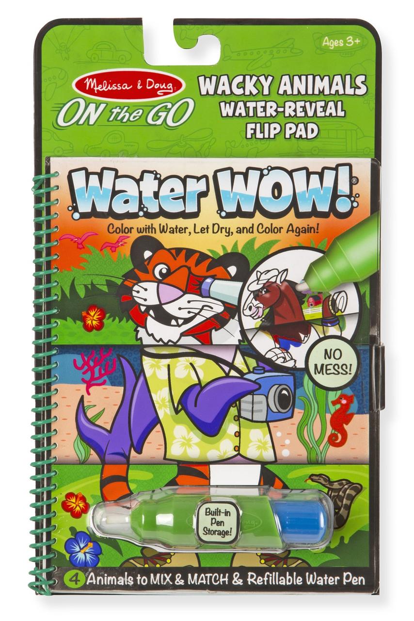 Волшебная водная раскраска Веселые животные Melissa & Doug (MD9464)