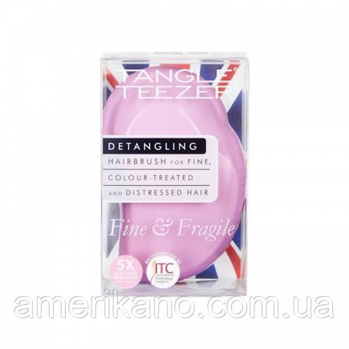 Расческа для волос Tangle Teezer The Original Fine & Fragile @Pink Dawn Цвет: лиловый