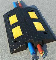 Лежачий полицейский ЛП300 (500х300х55,6), Основная секция, с кабель-каналом
