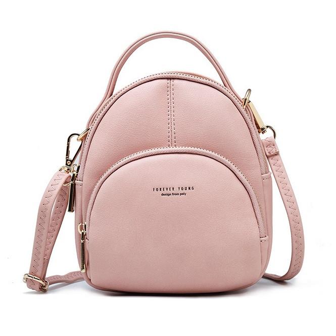 Небольшая женская сумочка рюкзачок Pierre Loues PL829-4 из экокожи, с отверстием для наушников, 3л