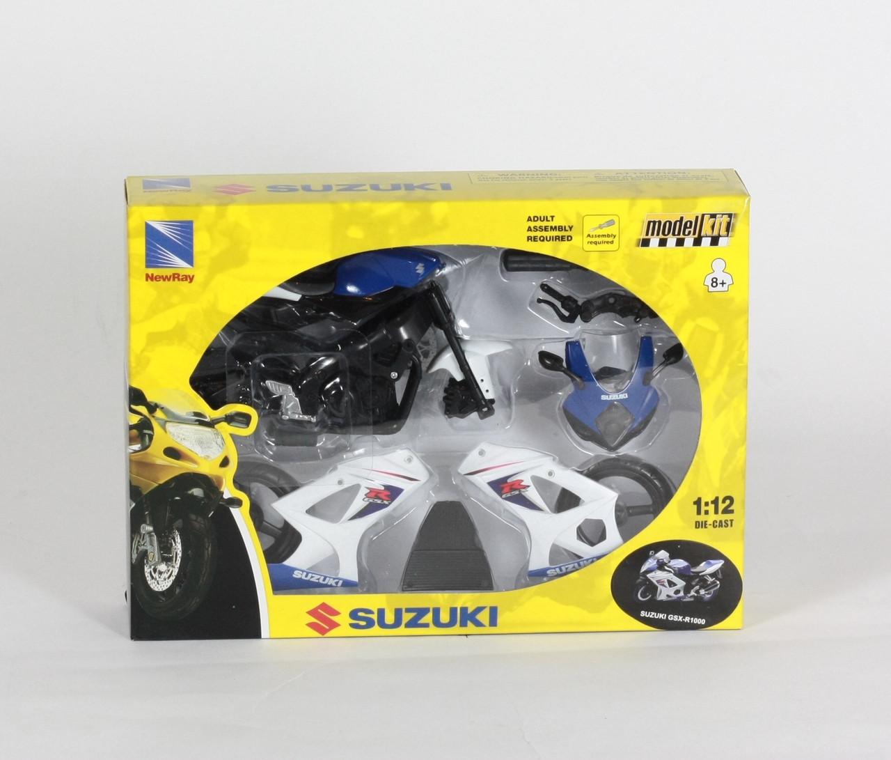 NewRay Мотоцикл сборка (1:12) SUZUKI, 57005