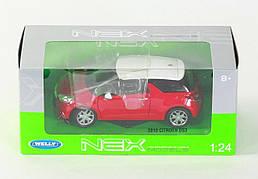 Welly. Модель 1:24 2010 CITROEN DS3, 24013W