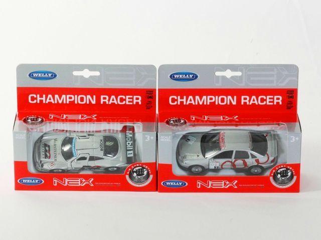 "Машина Welly ""Champion Racer"", металлическая, масштаб 1:38,  49750W"