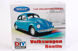 Welly.Сборная модель машинка металл. 1:24 VW BEETLE, 22436KB