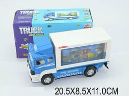 Машина-грузовик, на батарейках, свет, звук, WS8327-20