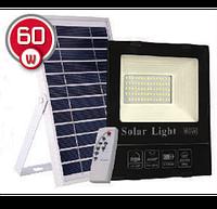 LED прожектор на солнечной батарее VARGO 60W 6500К (VS-048)