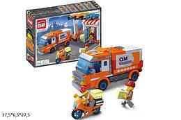 """Конструктор """"Brick"""" 1119  """"Служба доставки"""" 337дет."""